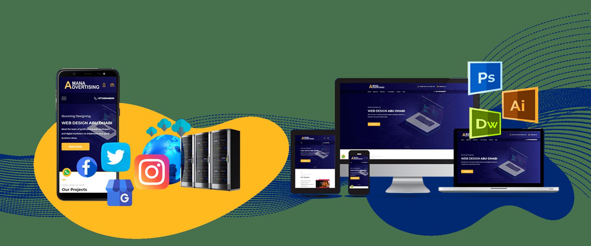Amana E Commerce Website Design Digital Marketing Mobile Application Development Company